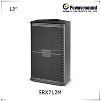 Professional active audio speaker tasso speakers passive speaker full range 12'' single speaker SRX712M
