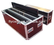 9mm fireproof board flight case carrying case for tv