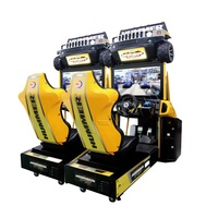 32 inch coin operated Car Driving simulator arcade game machine