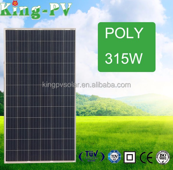 Chinese Best Price Poly 315W PV Panel Solar Module 315w For Sale
