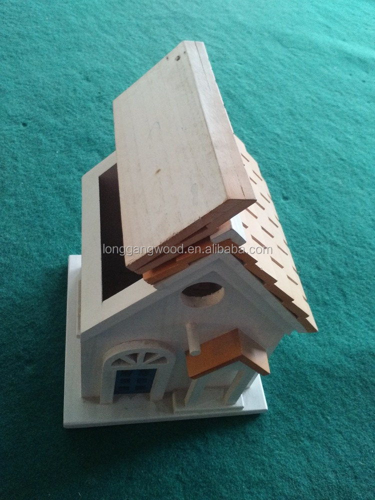 China bird flat wooden/China small wood crafts bird cages/China wood furniture bird cages
