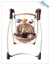 Adjustmengt recline seat baby infant swing