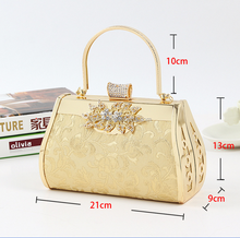 Amazon best selling rhinestone Evening bag handbag brand handbags wholesale evening bags bride Handbags
