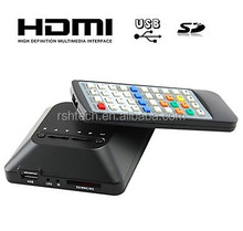 1080Pmulti media player for car HDD media player portable mkv player for TV HD output