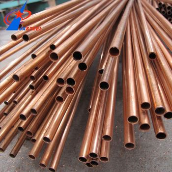 15mm Astm B280 Straight Copper Pipe Tube
