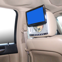 9 Inch Rear Seat Entainment Slide up Headrest DVD Player Integrated