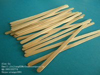 hot selling bundled birch wood coffee stir sticks