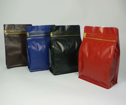 Box pouch with pocketzip,Box pouch with Zipper, Box pouch Bag Making Machine, BOXPOUCH-MP250PZ+V, 250g Coffee Bag
