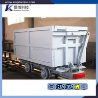 Side Dump Mine Car Coal Mining