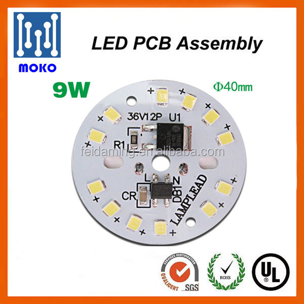 Best Selling !7w 9w 12w LED Module AC 220V Driverless LED PCB Board For <strong>Bulb</strong> and Down Light Replacement