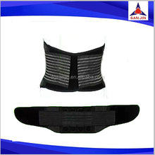 healthcare elastic band with silicon pad lumbar support waist belt