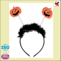 Perfect Halloween Pumpkin Head Band Kid's Party Decor Orange Color Cute
