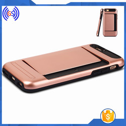 Wholesale Smartphone Case,Card Slots PC Hard Plastic Case For Samsung J1 ACE