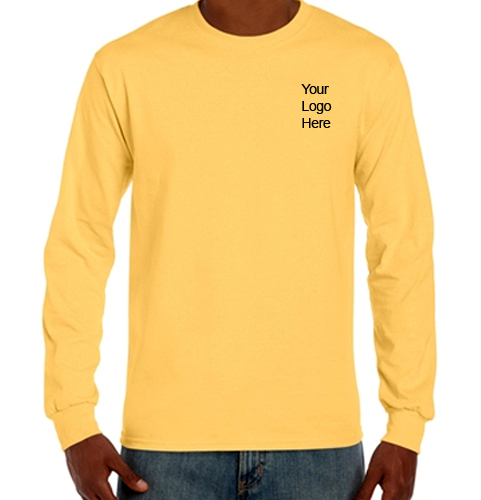 Brand name men's good quality long sleeve t shirts