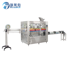PLC&Touch Screen Control Small 300~2000ml PET Water Bottled Filling Equipment