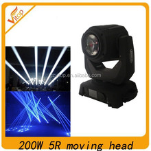 2015 hot sell item sharpy 200w moving head beam 5r for stage