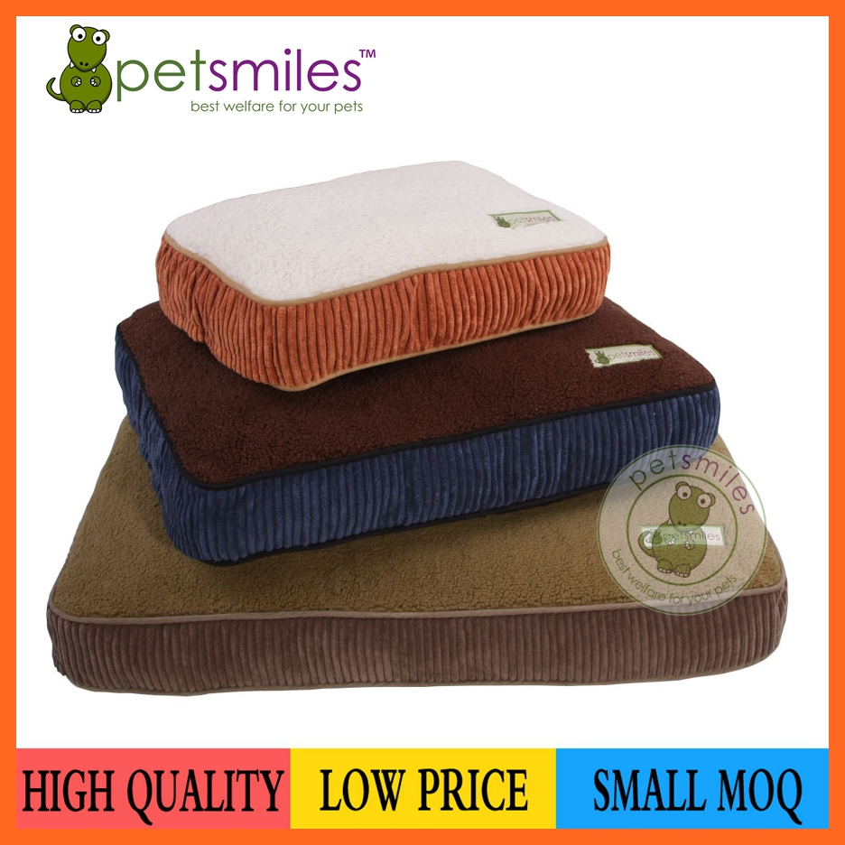 Direct manufacturer good quality sherpa dog cushion hot sale in 2018