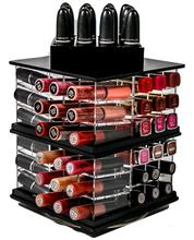 Best selling transparent Cosmetic Nail Polish Acrylic Display Rack