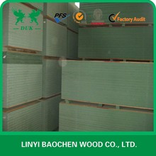 Waterproof green MDF board/HMR MDF