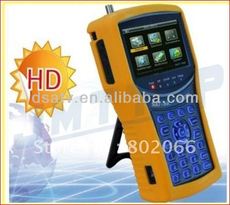 1pcs wholesale HD mpeg4 DVB-S2 meter digital <strong>satellite</strong> ws6932 HD Analyzer <strong>Satellite</strong> Signal Finder satlink ws 6932
