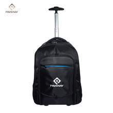 China High Quality Single Draw Bar Trolley Laptop Bag With 2 Wheels