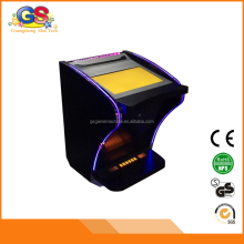 Custom Metal Cabinet Casino Arcade Video Poker Game Machine Adjustable Win Rate