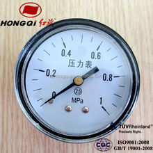 High quality 40mm welding mini bourdon tube manometer with reasonable price