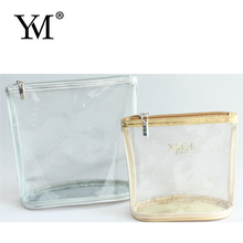 Hot sale newest promotional transparent pvc cosmetic bag zipper bag