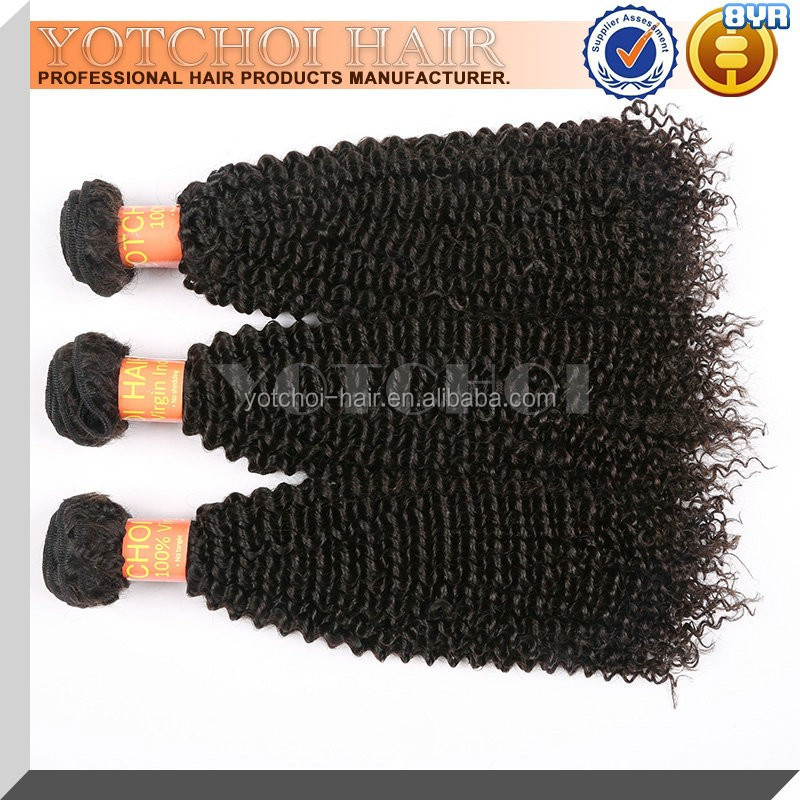 High Quality Cheap Price For Virgin Remy Hair African American Kinky Curly Hair