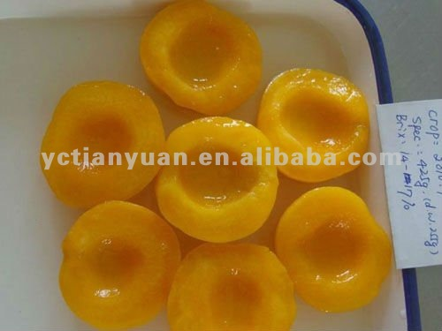 425g, 3kg Canned Yellow Peaches Halves