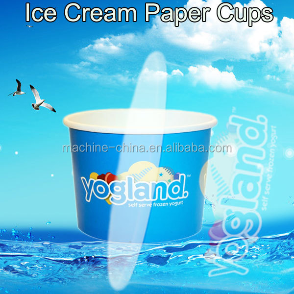 ZBJ-H12 Best Used Disposable Frozen Yogurt Paper Cups Machine