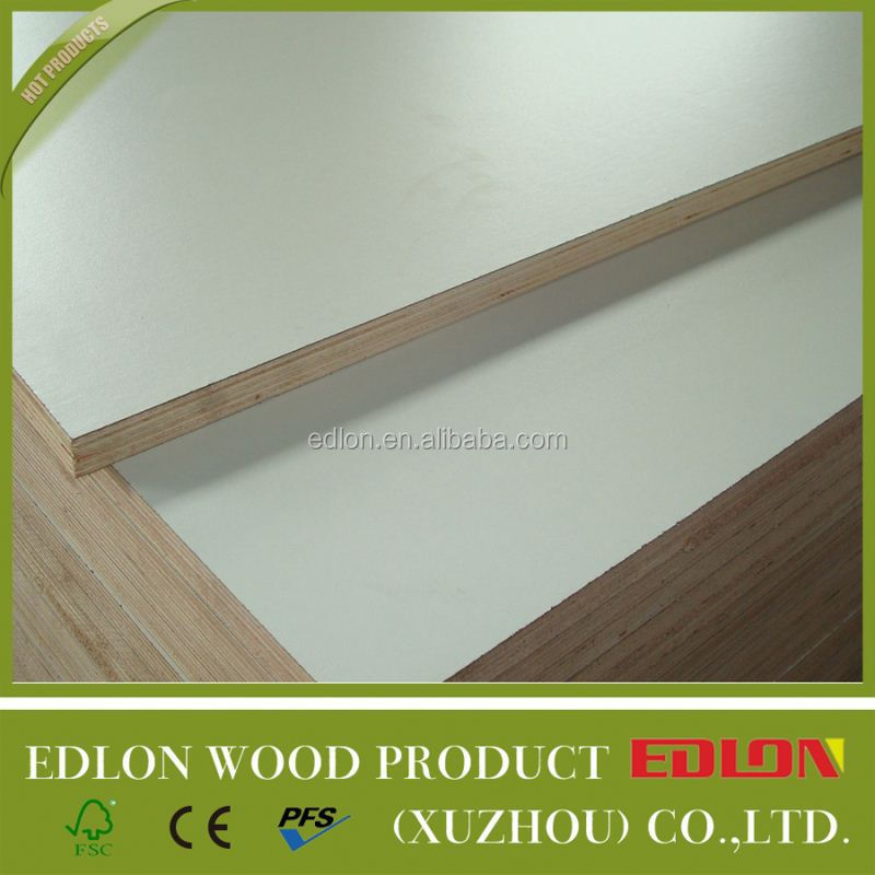 HPL plywood solid colour/wood grain ply wood sheet