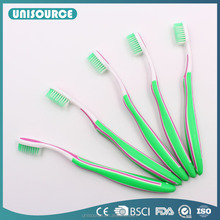 Rubber Handle Healthy Material Adult Age Group Toothbrush
