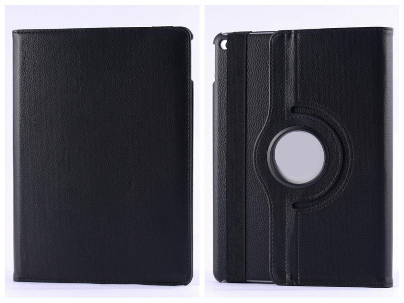 Retail 360 Degree Rotate Leather PU Case For iPad mini 4 PU Smart Leather Case Cover