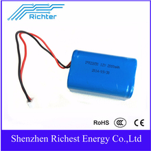 Highpower lifepo4 12v 2000mah battery with 2000cycles car battery pack