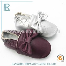 wholesale soft sole baby moccasins leather shoes