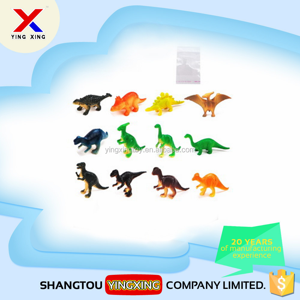 Kids soft rubber walking dinosaur toy