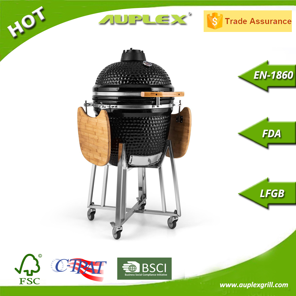 Outdoor Kamado Cooking BBQ Ceramic Egg Grill