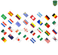 World cup cheap fans national flag country flag for fan shaking