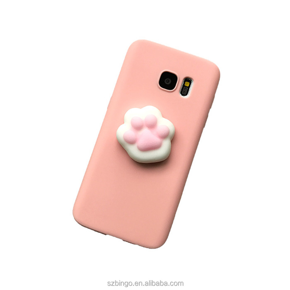 Factory wholesale custom soft squishy case 3d mobile phone case <strong>cover</strong> for smartphonesne