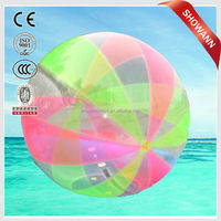 Customed PVC Inflatable Water walking Ball,Inflatable Ball,Beach Ball With Logo Printing for u