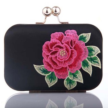 High quality fashion women embroidered bag