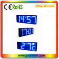 12 inch 4 digits large time and temperature led board