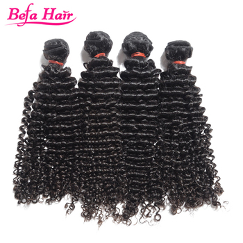 Befa Hair high quality factory price virgin brazilian jerry curl hair weave