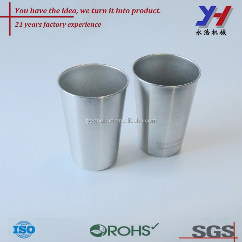 OEM ODM customized Factory price metal tin mug/Standard metal beer pint cup/Cylinder tin cup for drink wholesale