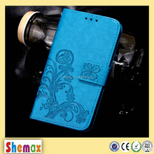Lucky stylish leather flip case cover for samsung galaxy s3 i9300