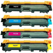 High quality computer printer laser color toner cartridge tn221 for brother