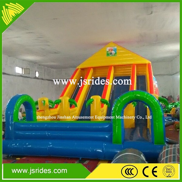 0.55mm PVC used commercial inflatable bounce/kids inflatable bouncy house/used inflatable bouncy house for sale
