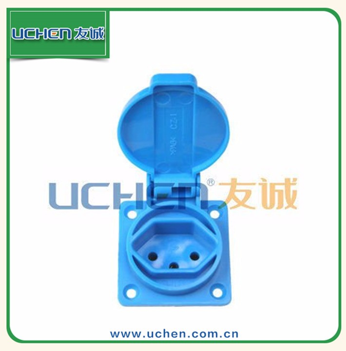 YGB-021 Switzerland floor outlet cover 10A socket waterproof
