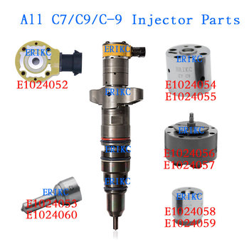 ERIKC c7 diesel valve 268-1835 and 268-1839 injector common rail spool valve 295-1411 328-2585 387-9427 injector parts